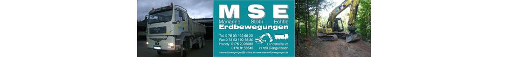 MSE-Erdbewegungen
