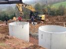 Einsetzen Löschwasserspeicher Bermersbach